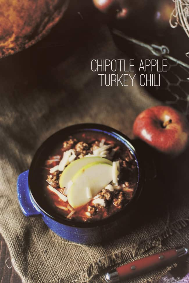 Chipotle Apple Turkey Chili | Kita Roberts PassTheSushi.com