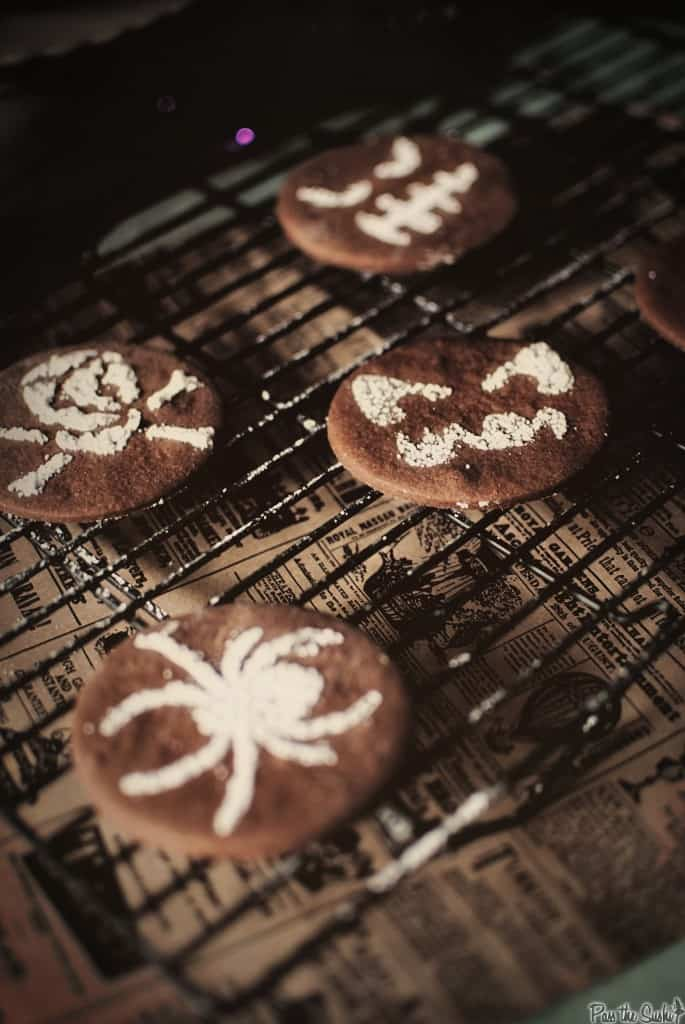 Halloween Cookies | Kita Roberts PassTheSushi.com