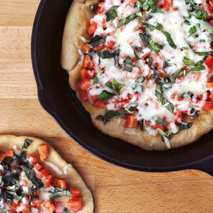 Thin-Crust Skillet Pizza for Two
