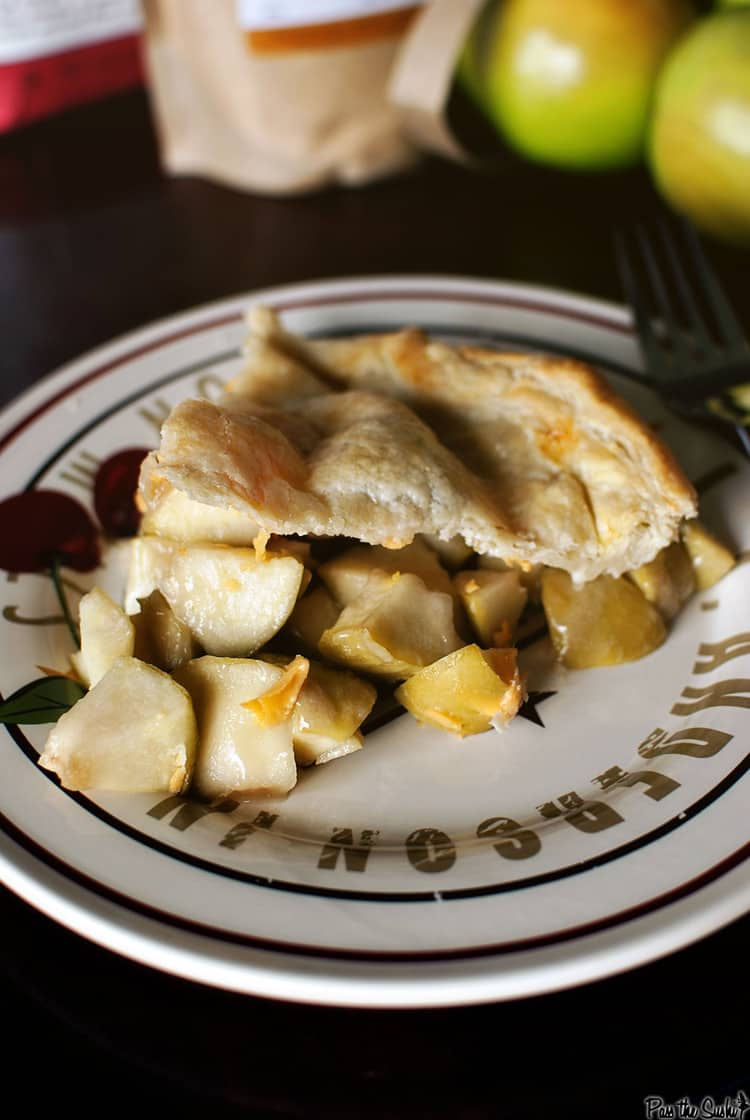 Cheddar Apple Pie and a King A King Arthur Flour Giveaway