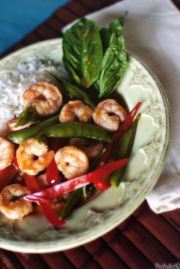 red shrimp curry