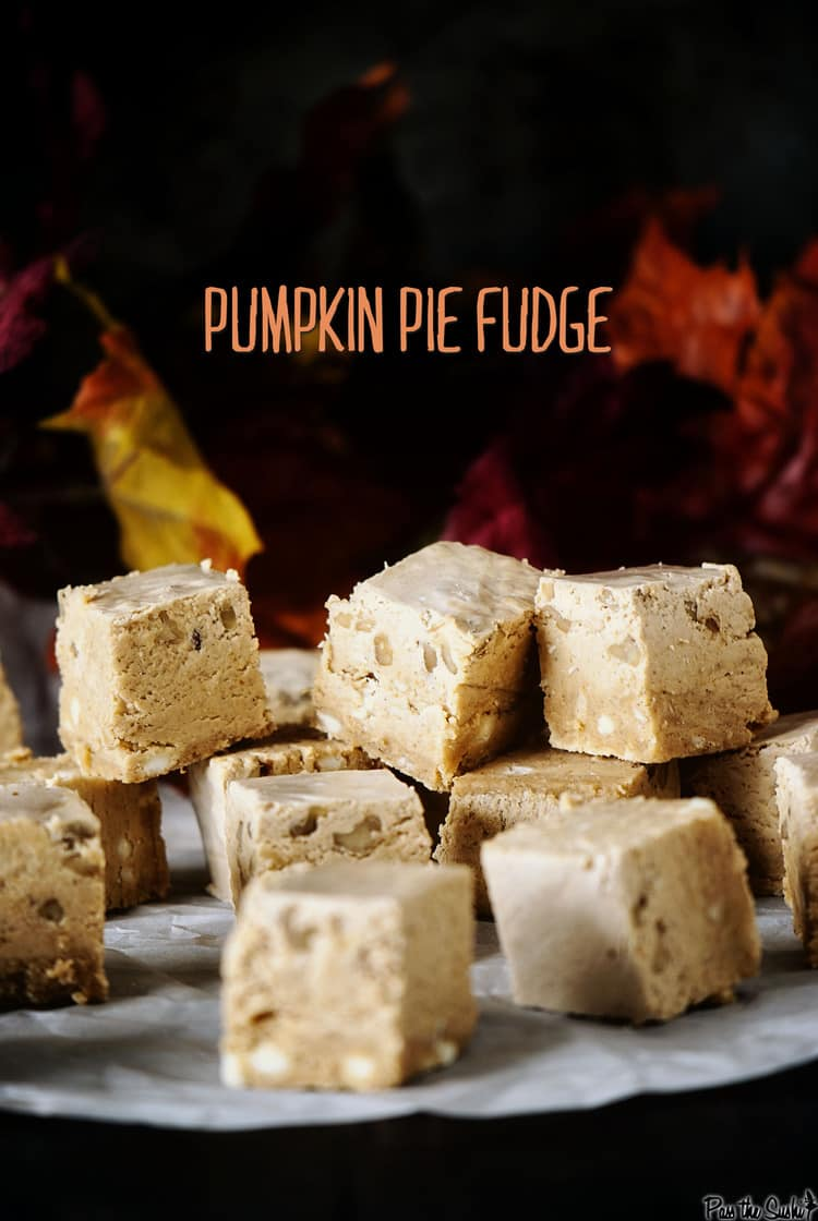 Pumpkin Pie Fudge - Pass The Sushi