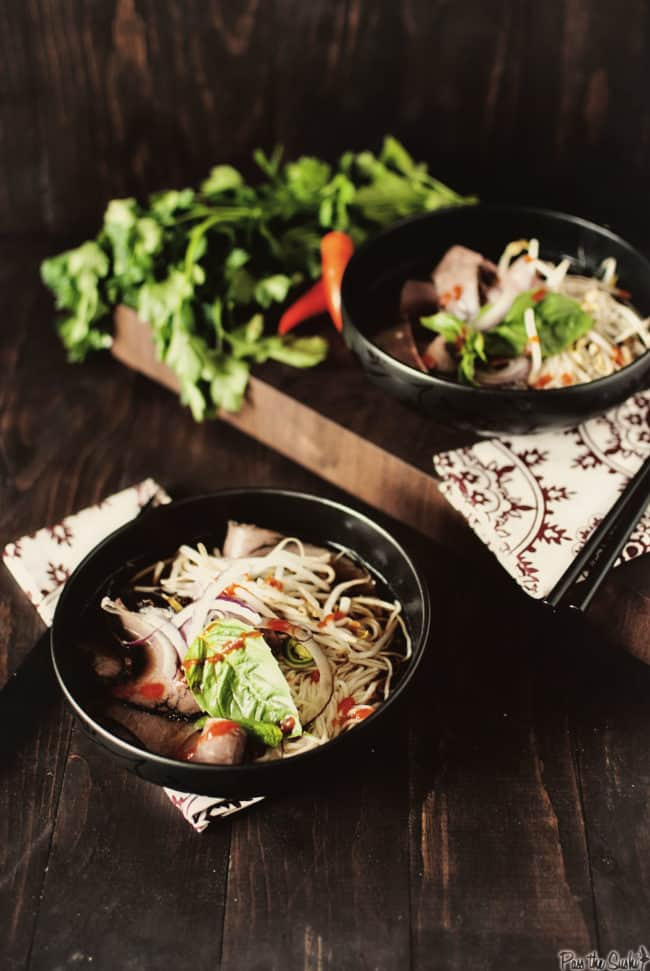 Beef Pho {Pass the Sushi}