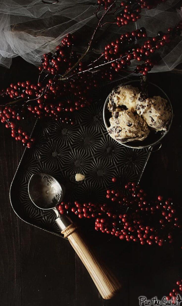 Eggnog Frangelico Gelato Recipe | Kita Roberts PassTheSushi.com