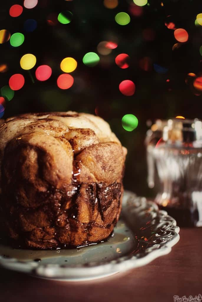 Christmas Brunch: Slow Cooker Eggnog French Toast Monkey Bread