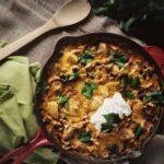 Enchilada Pasta Skillet & a Le Creuset Skillet Giveaway