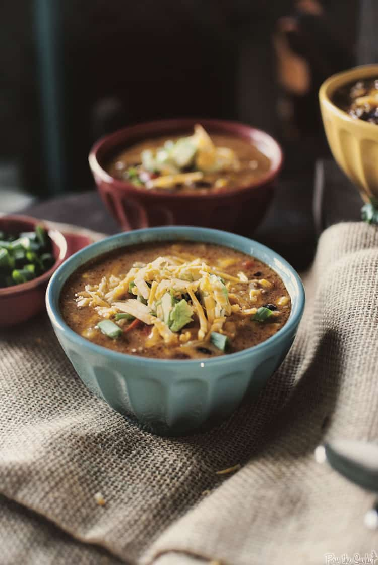Super Simple Slow Cooker Taco Soup - Pass The Sushi