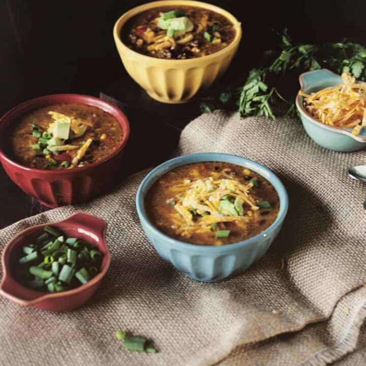 uper Simple Slow Cooker Taco Soup