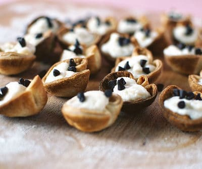 Mini Cannoli Bites