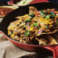 Slow Cooker Barbecue Nachos