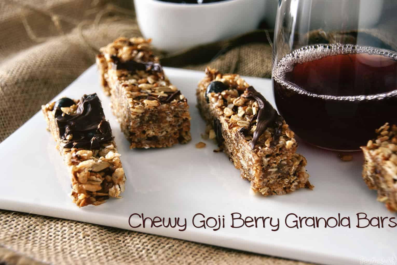 Chocolate Goji Berry Granola | Kita Roberts PassTheSushi.com