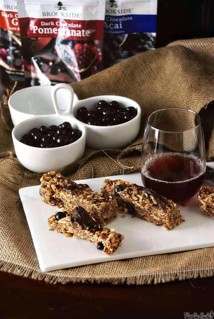 Chocolate Goji Granola | Kita Roberts PassTheSushi.com