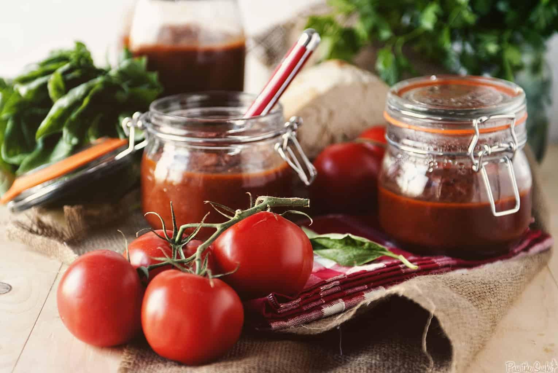Slow Cooker Marinara Sauce | Kita Roberts PassTheSushi.com