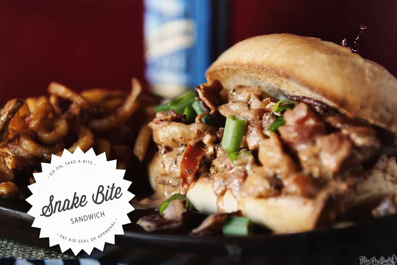 Snake Bite Sandwich | Kita Roberts PassTheSushi.com