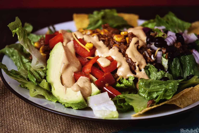 Taco Salad   Kita Roberts PassTheSushi.com