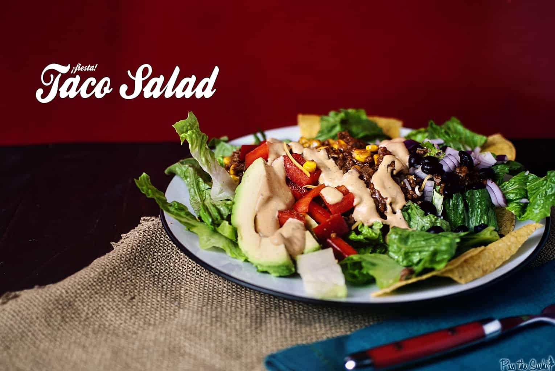 Taco Salad | Kita Roberts PassTheSushi.com
