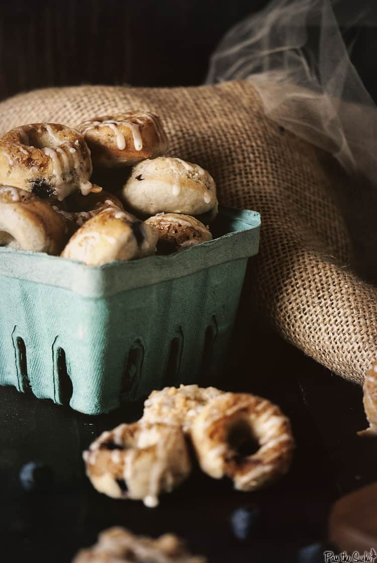 Mini Blueberry Donut | Kita Roberts PassTheSushi,com