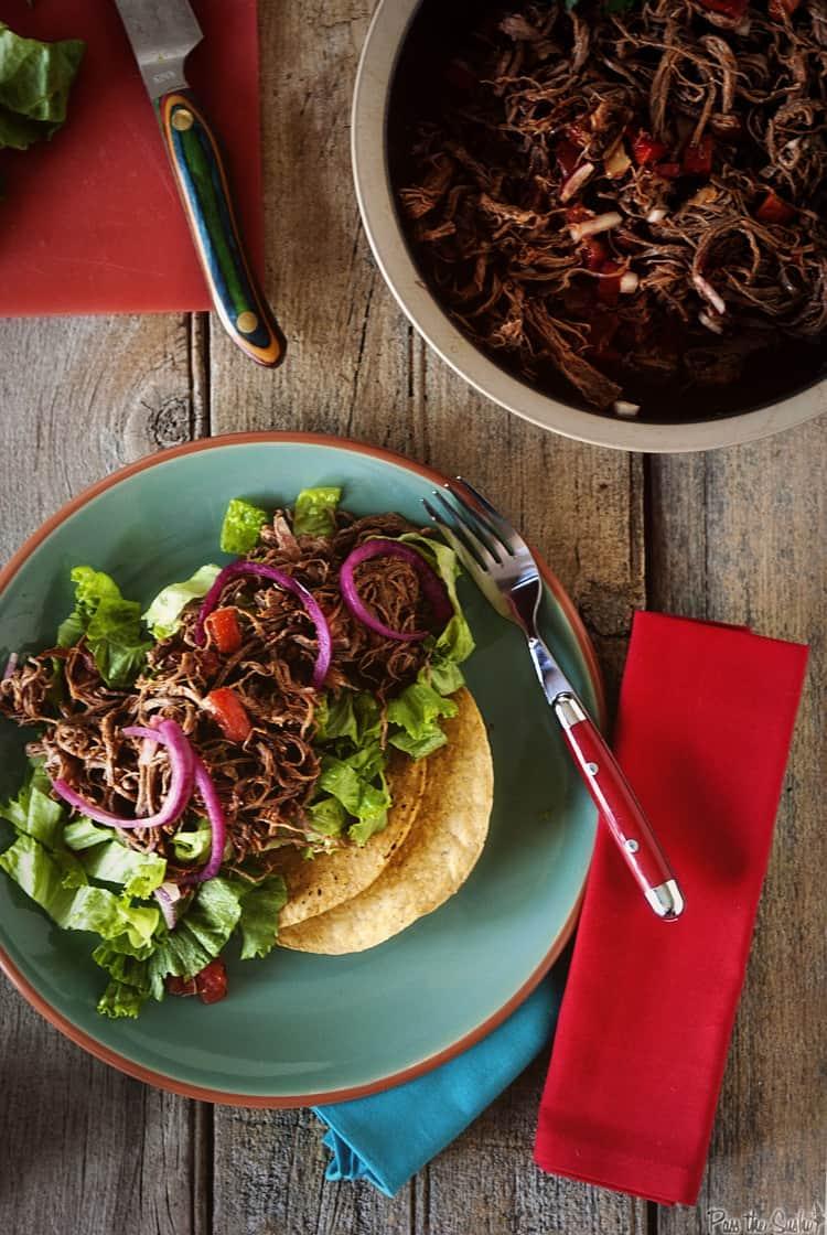 Salpicon Beef Salad | Kita Roberts PassTheSushi.com