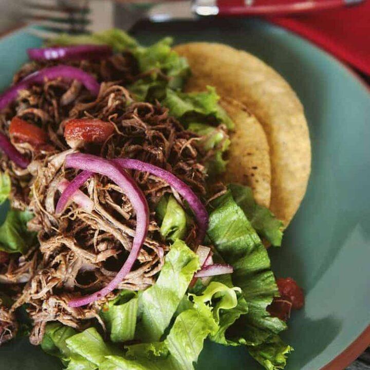 Salpicon Beef Taco Salad