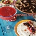 Strawberry Margaritas for One from PasstheSushi.com