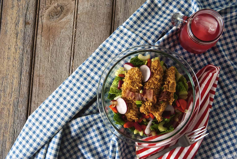 Corn Chip Chicken Salad | Kita Roberts PassTheSushi.com