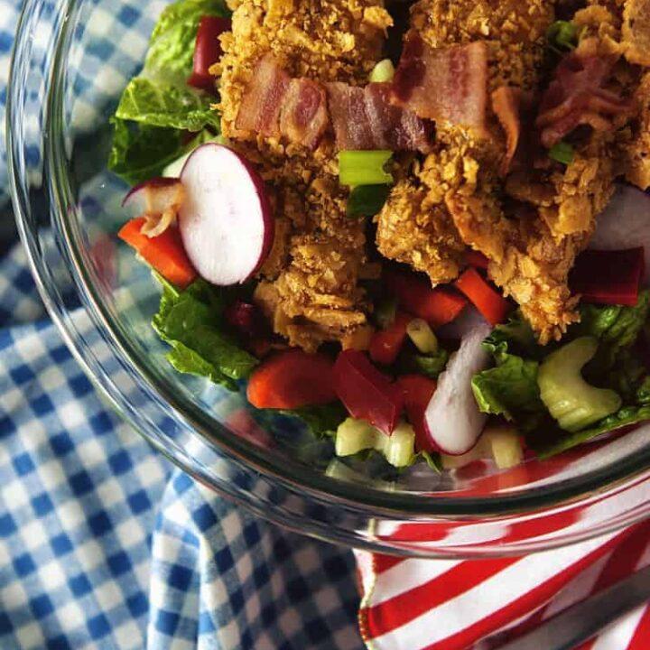 Corn-Chip Chicken Salad