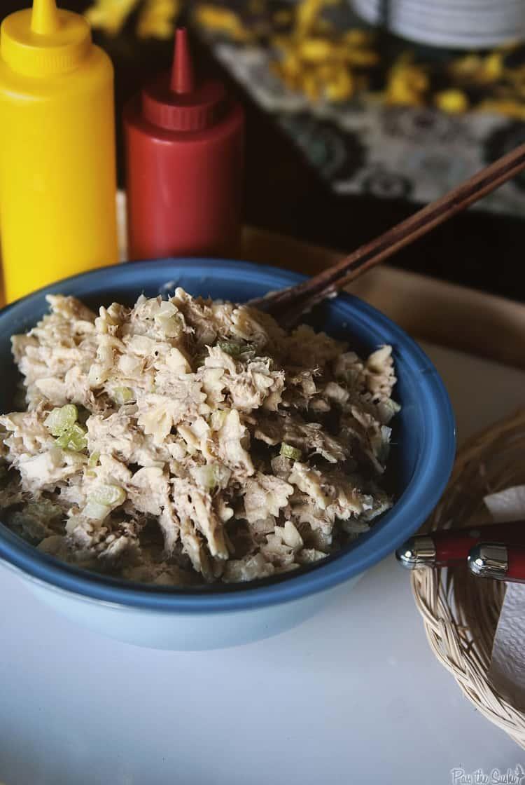Tuna Salad | Kita Roberts PassTheSushi.com