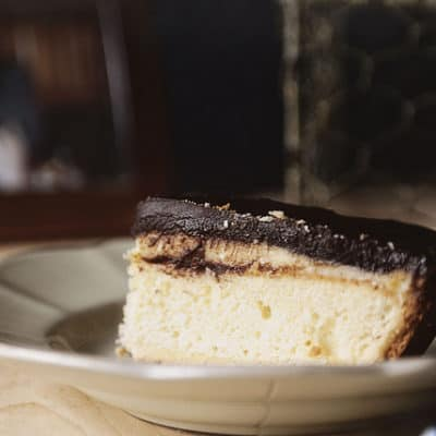 Boston Cream Pie – for Father's Day