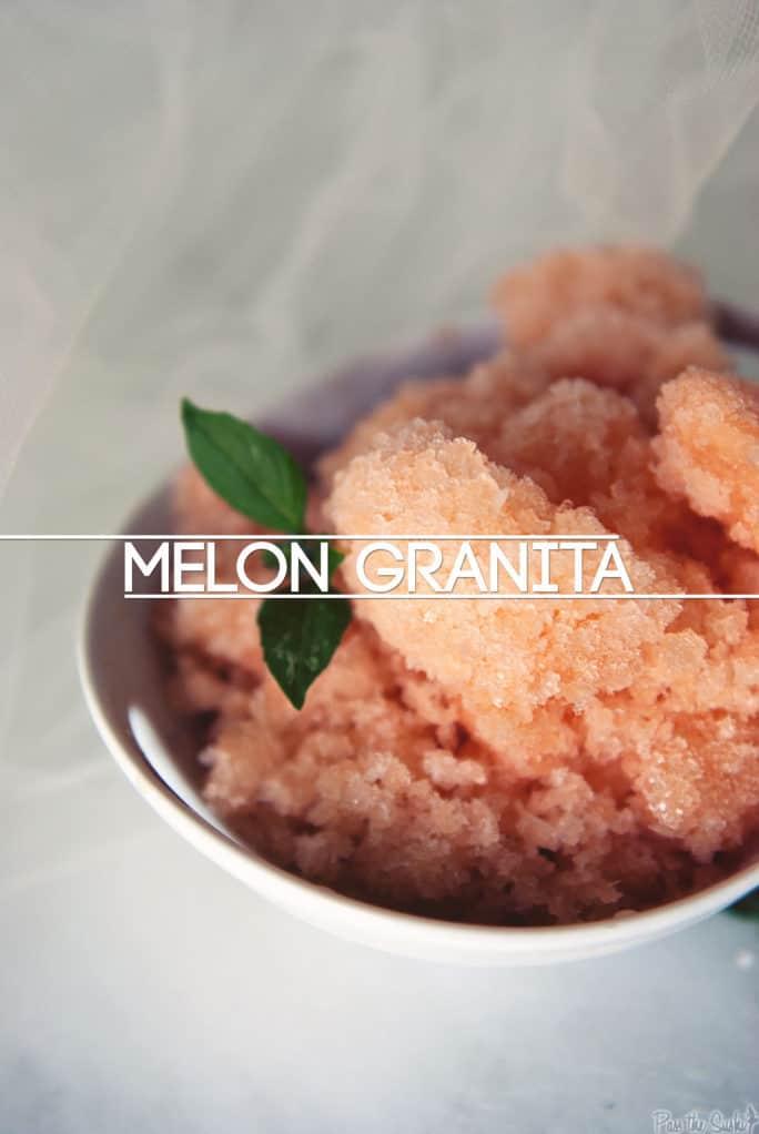 Melon Granita   Kita Roberts PassTheSushi.com