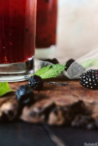 Raspberry Mojitos | Kita Roberts PassTheSushi.com