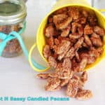 Sweet and Spicy Candied Pecans words