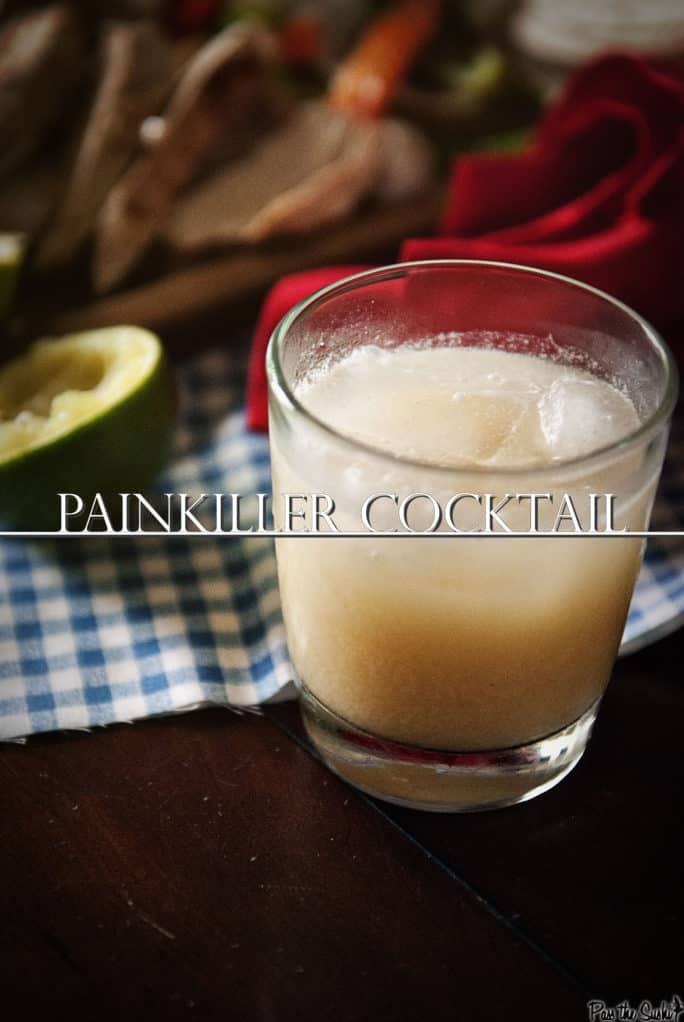 Painkiller Cocktail  | Kita Roberts PassTheSushi.com
