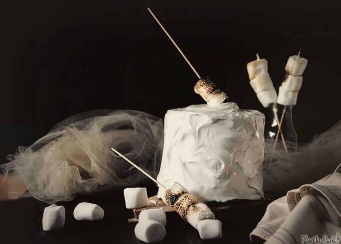 S'mores Layer Cake | Kita Roberts PassTheSushi.com