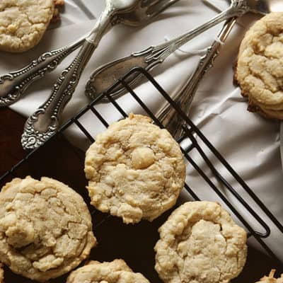 White Chocolate Coconut Macadamia Nut Cookies