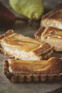 Whiskey Pear Tart – the one thing you should probably make this fall