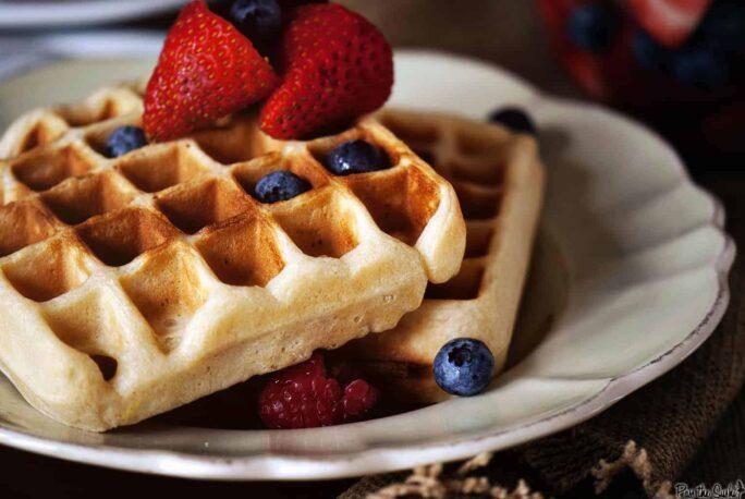Belgian-Style Yeast Waffles   Kita Roberts PassTheSushi.com