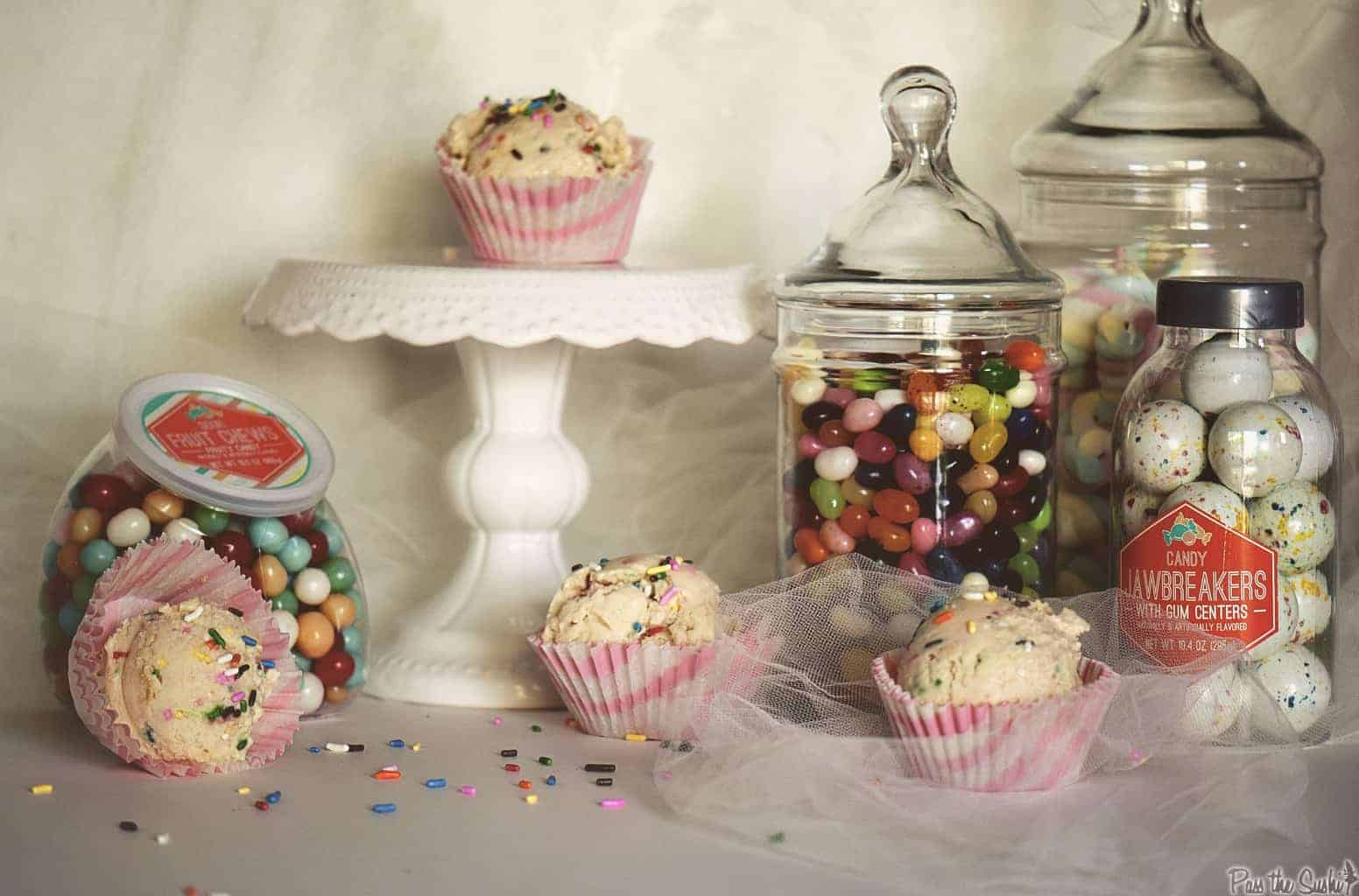 Funfetti Cake Batter Ice Cream | Kita Roberts PassTheSushi.com