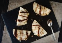 Apple and Brie Dessert Quesadillas from PasstheSushi.com