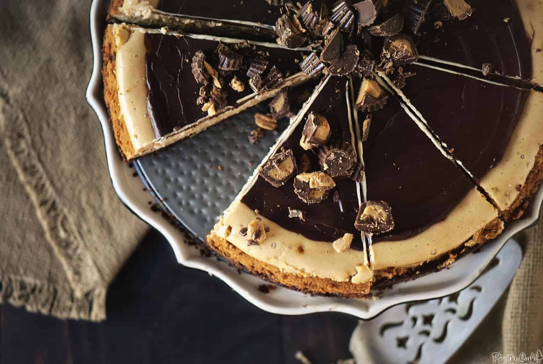 Peanut Butter Cheesecake| Kita Roberts PassTheSushi.com