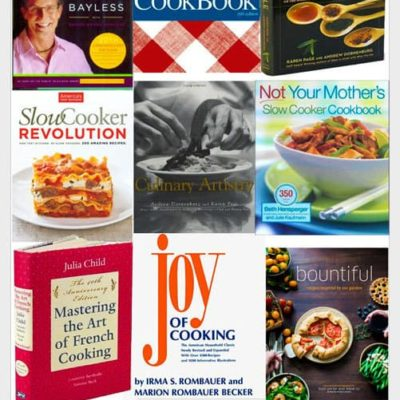 Our Favorite Cookbooks Giveaway!