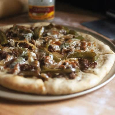 Cheesesteak Pizza – Elevate Pizza Night