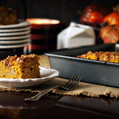 Pumpkin Latte Coffee Cake