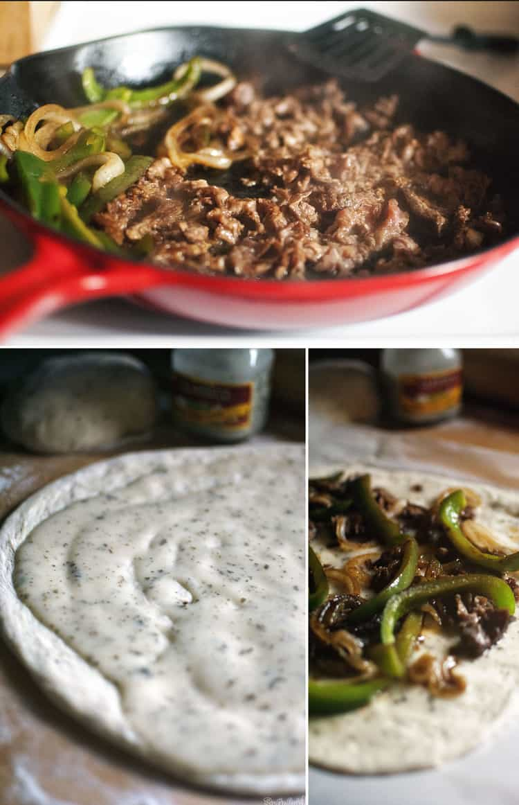 Details of pizza preparation | Kita Roberts PassTheSushi.com