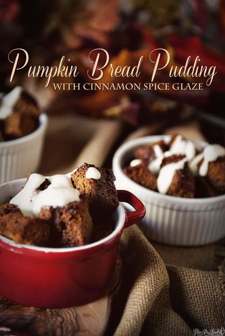 Pumpkin Bread Pudding | Kita Roberts PassTheSushi.com