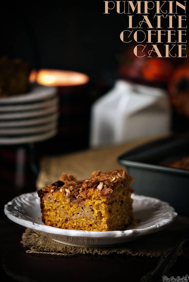 Pumpkin Latte Coffee Cake | Kita Roberts PassTheSushi.com