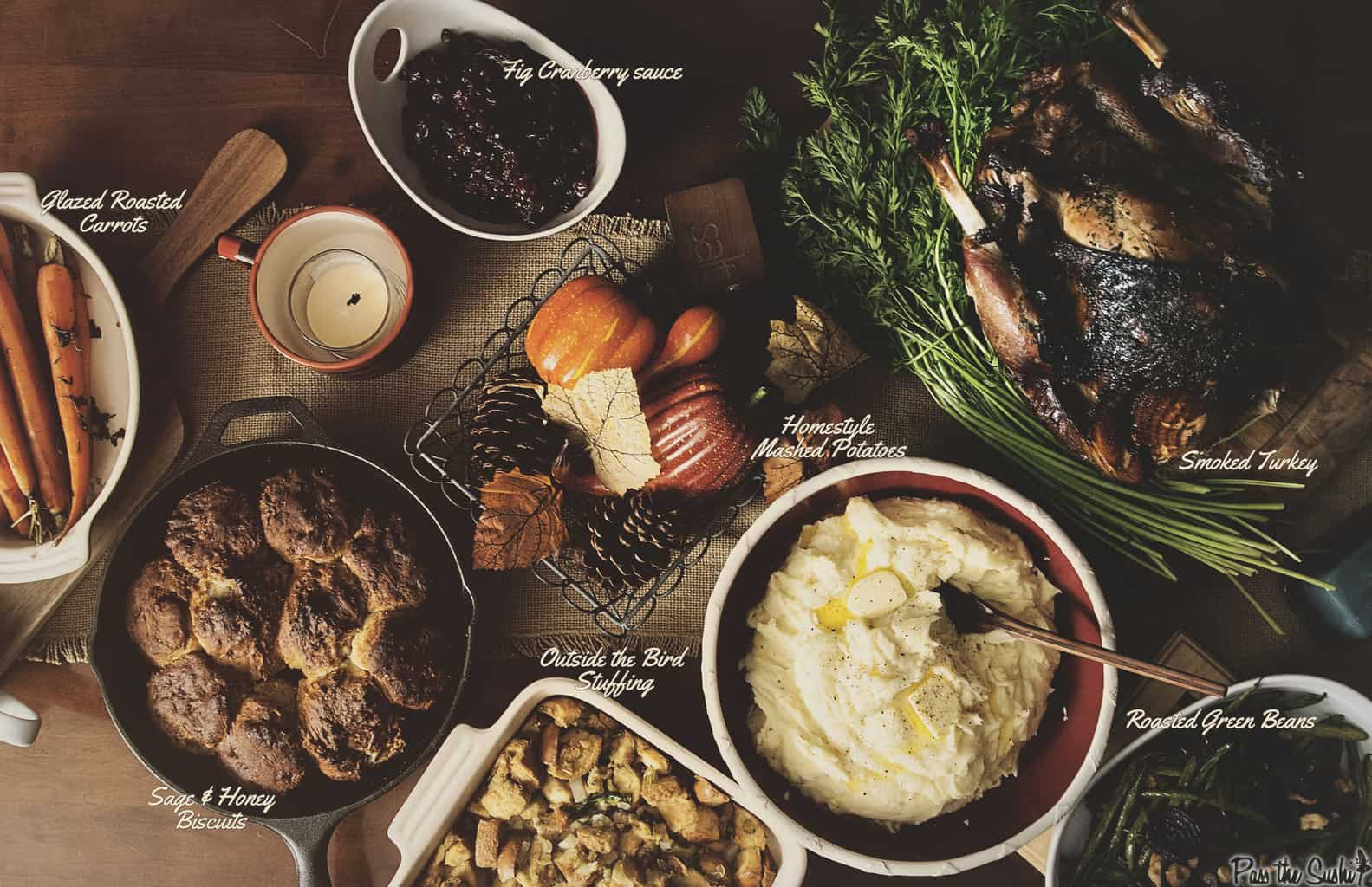 Thanksgiving Sides | Kita Roberts PassTheSushi