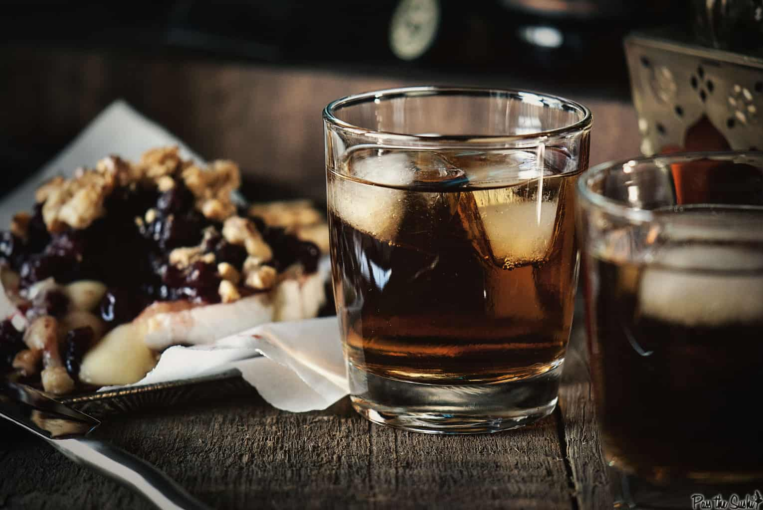 Black Almond Cocktail | Kita Roberts PassTheSushi.com
