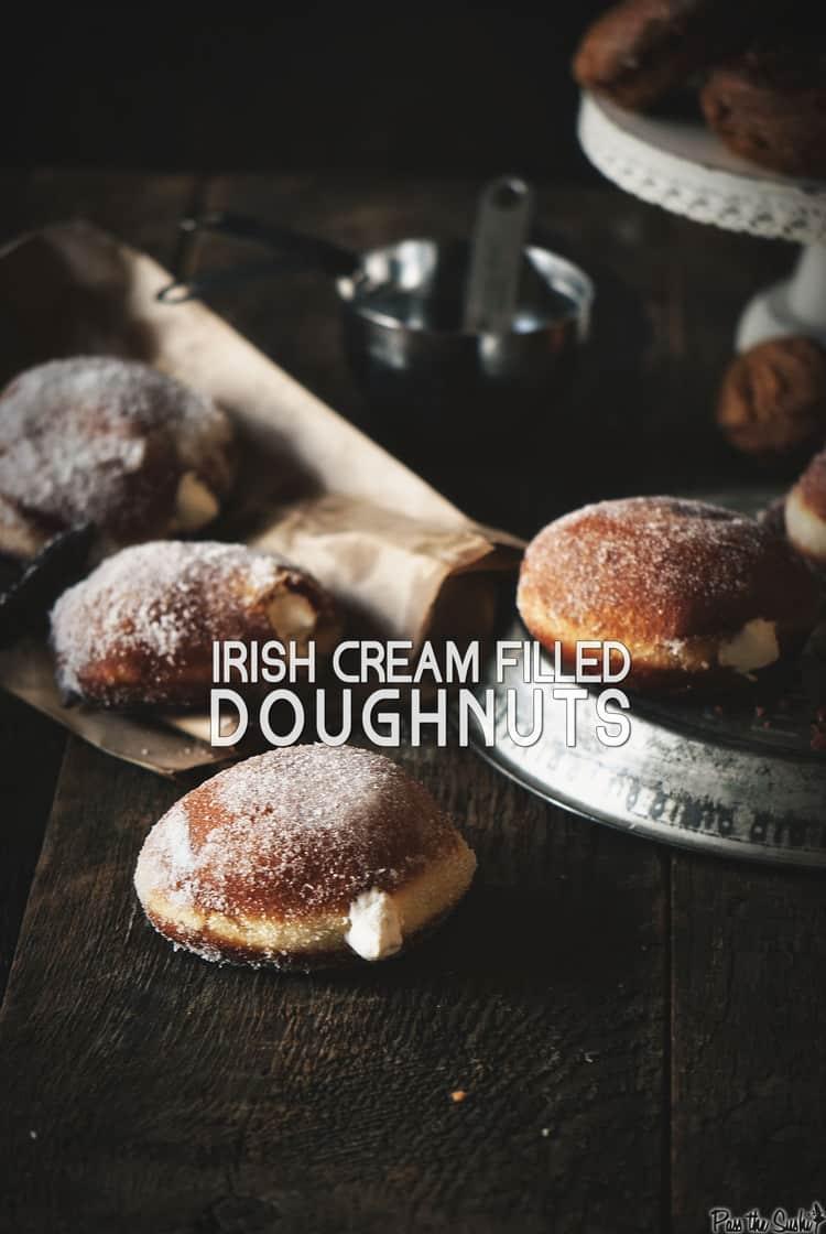 Irish Cream Doughnuts | Kita Roberts PassTheSushi.com