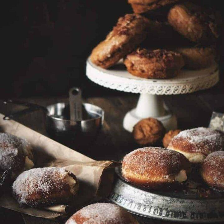 Irish Cream Doughnuts   Kita Roberts PassTheSushi.com