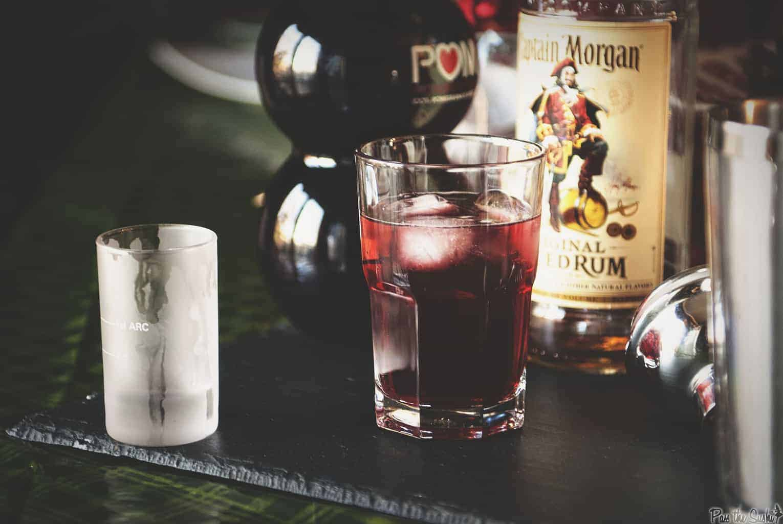 Pomegranate Fizz Cocktail | Kita Roberts PassTheSushi.com